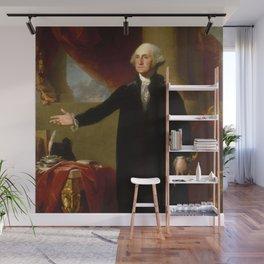 "Gilbert Stuart ""George Washington (Lansdowne portrait)"" Wall Mural"