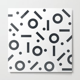 Geometric Pattern 03A Metal Print