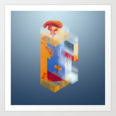 Castle of Impossible Flavors Art Print