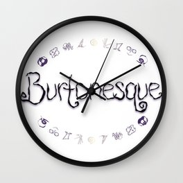 Burtonesque Wall Clock