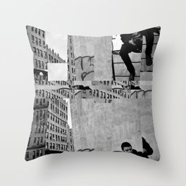 Urban Plate Throw Pillow