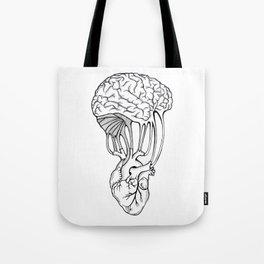 Mind and spirit connection Tote Bag