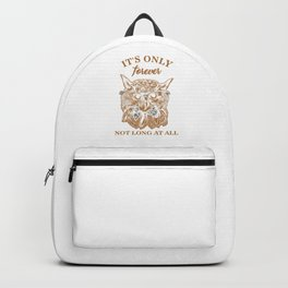 The Labyrinth Jareth Goblin King Gift It's Only Forever Not Long At All Backpack
