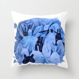 -BunBuns- Throw Pillow