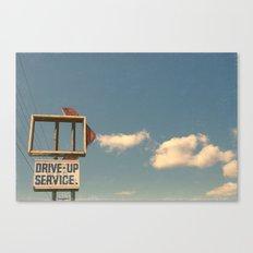 Drive Up Canvas Print