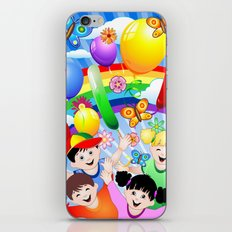 Happy Children's Birthday Party! iPhone & iPod Skin