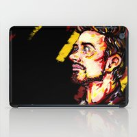 house stark iPad Cases featuring Tony Stark by AlysIndigo