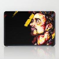 stark iPad Cases featuring Tony Stark by AlysIndigo