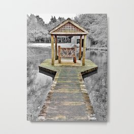 Woodside Estate, Matangi New Zealand Metal Print