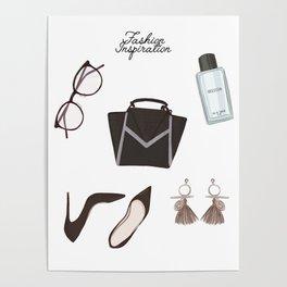 Fashion essentials Poster