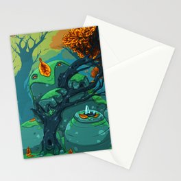 End of Fall Stationery Cards