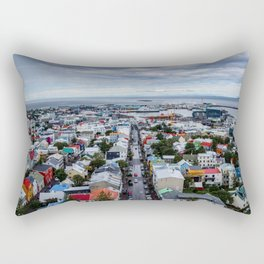 Colors of Ice Rectangular Pillow