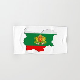 Bulgarian map Hand & Bath Towel