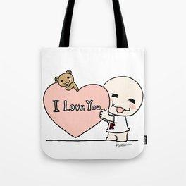 K Young-LOVE Tote Bag
