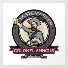 Colonel Anngus Art Print