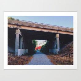 Under The Bridge Downtown Art Print