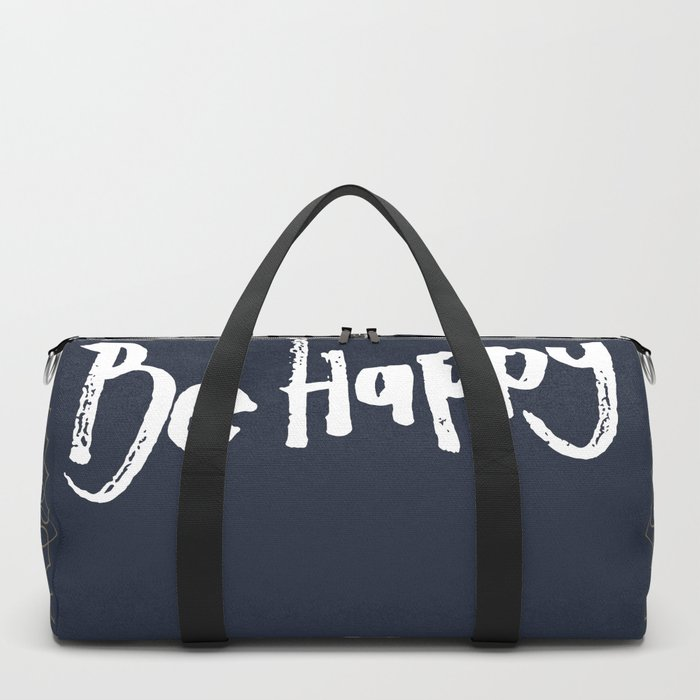 Be Happy Little Buddha Duffle Bag