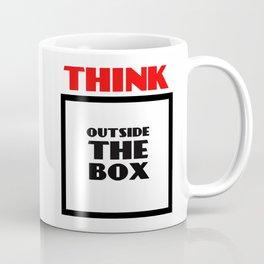 Think Outside The Box 2 Coffee Mug