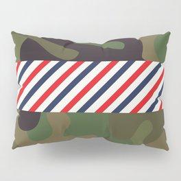 Barber Camo Pattern Pillow Sham