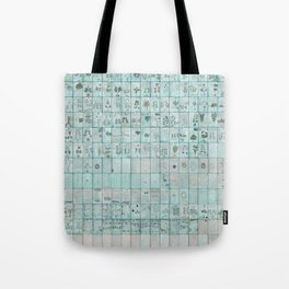 The Complete Voynich Manuscript - Blue Tint Tote Bag