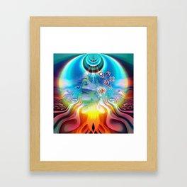 6 Language of Light Base Chakra Symbols Framed Art Print