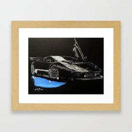Car #3 Framed Art Print