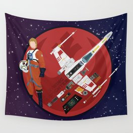 X-WING dissect #2 Wall Tapestry