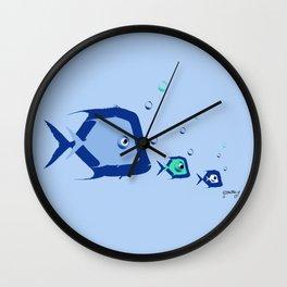 Piranhas 1 Wall Clock