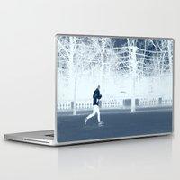 run Laptop & iPad Skins featuring run by habish