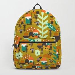 Autumn gnome garden Backpack