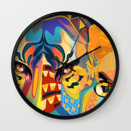Its a Jungle out there Wall Clock