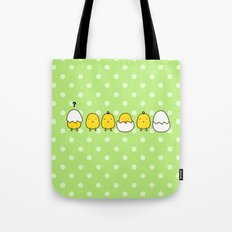 Easter Chicks Tote Bag