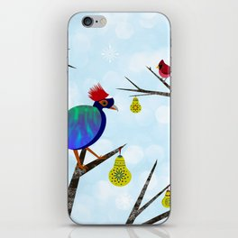 A Partridge in a Pear Tree iPhone Skin