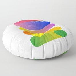 Art Pills Floor Pillow