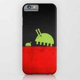 DAVID AND GOLIATH BUGS iPhone Case
