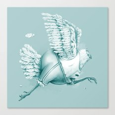 Olimpic Chicken Canvas Print