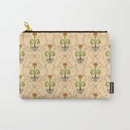 art nouveau venus fly trap fleur de lis Carry-All Pouch
