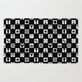 Kingdom Hearts Grid Rug