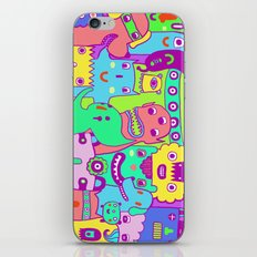 Monster Picture iPhone & iPod Skin