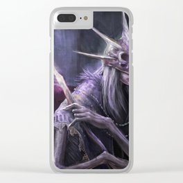 Aldrich - Dark Souls 3 Clear iPhone Case