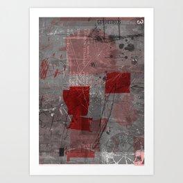unfolded 8 Art Print