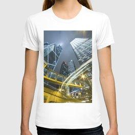 Hong Kong Night City T-shirt
