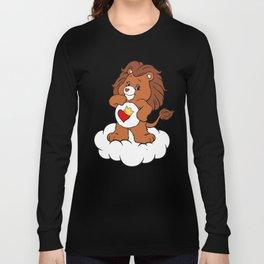Brave Heart Lion Long Sleeve T-shirt
