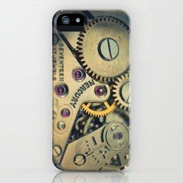 Mechanical Watch Movement - Mercury iPhone Case
