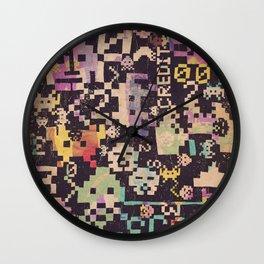 Galactic Pixel War Wall Clock