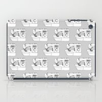 sewing iPad Cases featuring Sewing Machine by The Wellington Boot