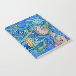 Ocean Blues Notebook
