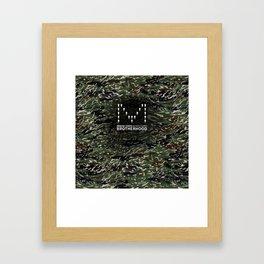 MCHG Brotherhood Camouflage Framed Art Print