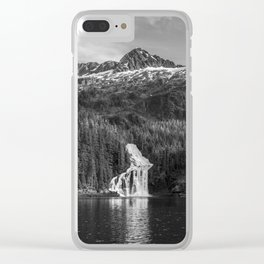 Cascade Bay Alaska Clear iPhone Case