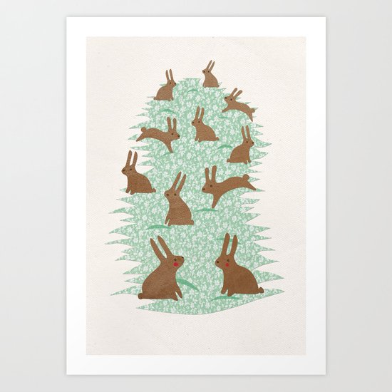 Multiplication Art Print